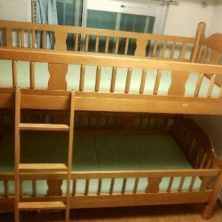 木製二段ベッド くろがね工作所