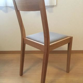 無印良品 MUJI オーク材 ダイニングチェア 椅子 イス 無垢材 − 大阪府