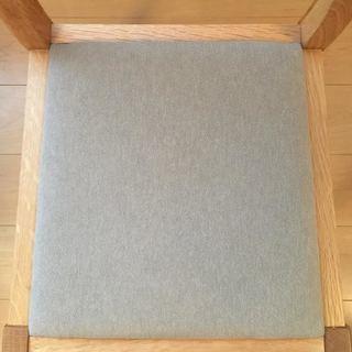 無印良品 MUJI オーク材 ダイニングチェア 椅子 イス 無垢材 - 売ります・あげます