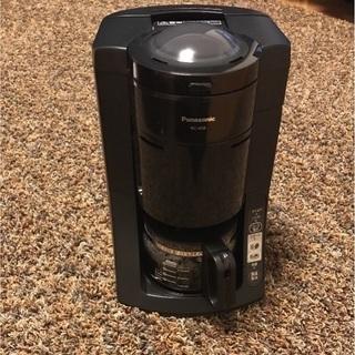 パナソニック沸騰浄水コーヒーメーカー 全自動 NC-A56。美品