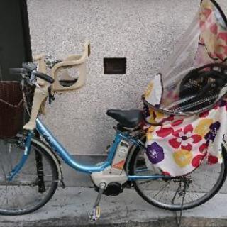 【商談中】電動自転車 子供乗せ 3人乗り対応