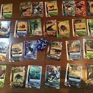 ムシキングのカード26枚とVガジェ 海 セット
