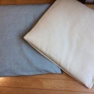 無印良品のカバー付き座布団