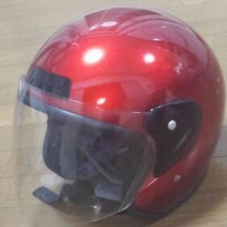 ※決まりました【傷汚れ多めの為、無料です】ジェットヘルメット/バイ...