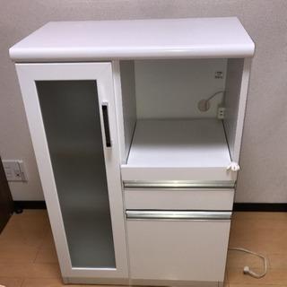 電子レンジ 炊飯器 棚