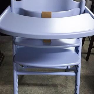 [yamatoyaベビーチェア/ブルー]ガード、テーブル付き⁑リ...
