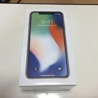 iPhone X 256GB シルバー Softbank ソフトバ...