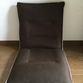 【無料】おしゃれなブラウンの座椅子をお譲りします