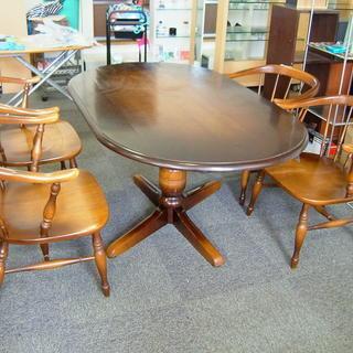 飛騨産業 キツツキマーク ダイニングテーブル チェア 4脚セット