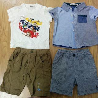 【子供服】ファミリア  上下2点セット サイズ80