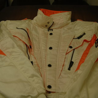 【値下げ】メンズ 白いライダースジャケット