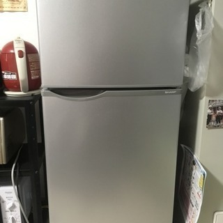 SHARP 冷蔵庫(1人暮らし用)