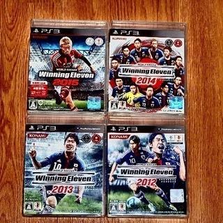 PS3用ウイニングイレブン2012-2015 4本セット PS3用...
