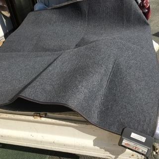 山善 2畳 ホットカーペット 保温シート付き 約176センチ角く...