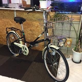 【砲弾ライト】20インチ折りたたみ自転車