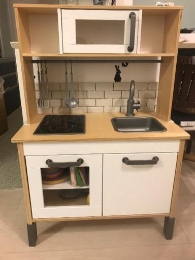 IKEA イケア おままごとキッチンの画像