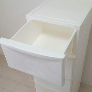 白色収納ケース