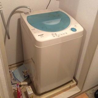 SHARP 洗濯機 2007製
