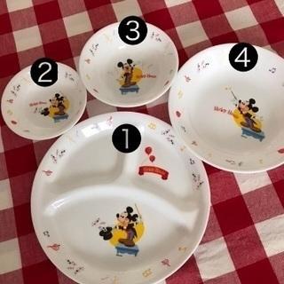 ディズニー 食器4点セット《Mickey Mouse》