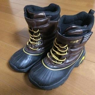キッズスノーブーツ Achillesアキレス 21.0センチ 冬靴...
