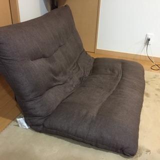 【1,000円】2人がけ ソファ・座椅子 リクライニング