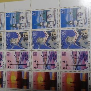 雪世界2  切手