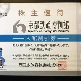 京都鉄道博物館 半額券