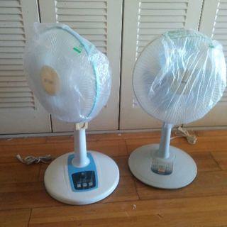 タイマー付き扇風機2個!