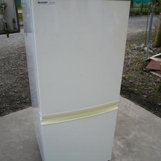 シャープ 2ドア冷凍冷蔵庫 SJ-S14M