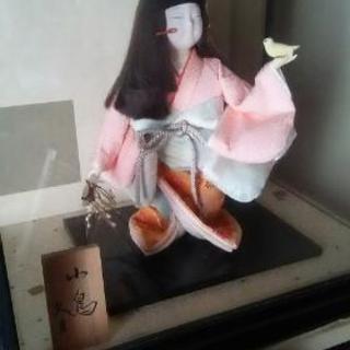ケース人形 日本人形 ガラスケース付
