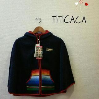 【値下げ】チチカカ*TITICACA もこもこポンチョ 定価:¥6000