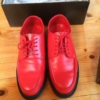 山根靴店  短靴(レッド)25㎝