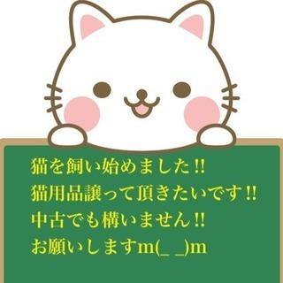 【至急】猫用品譲ってください!!