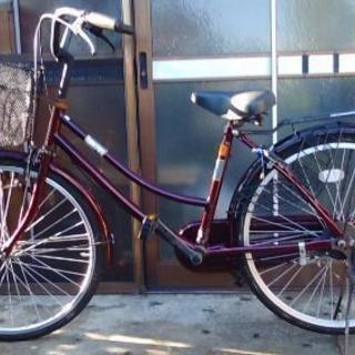 しっかりした綺麗なユースとのママ自転車