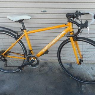 700×28C ロード 14段ギア黄色
