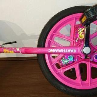 アースマジック 一輪車 16インチ 未使用