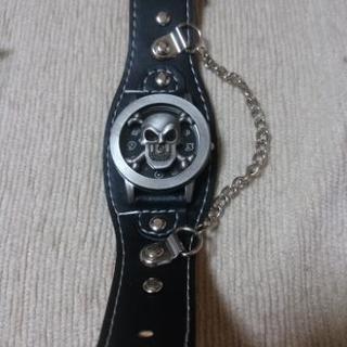値下げ!新品未使用!スカル 腕時計