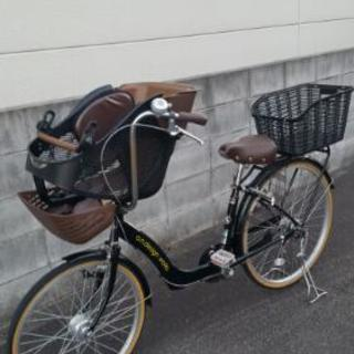 美品‼a.n.design works子供乗せ自転車✨3人乗り3段変速
