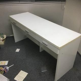 作業台 引き出し付きテーブル