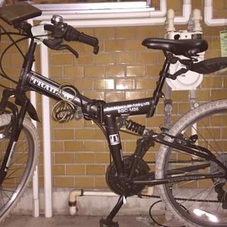 折り畳み自転車 MTB26インチ ...
