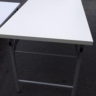 [集会所、会議用長机折り畳みテーブル]⁑リサイクルショップヘルプ