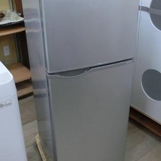 SHARP 2ドア 冷凍冷蔵庫 SJ-H12Y 2015年製 中古品