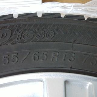 155/65R13 YOKOHAMA 軽自動車用スタッドレス ナット付き