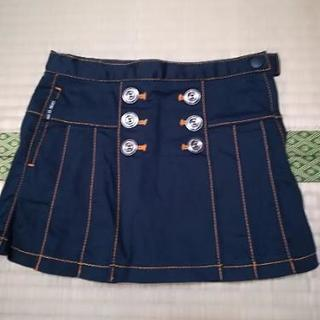 COMME CA ISM スカート 90サイズ ネイビー