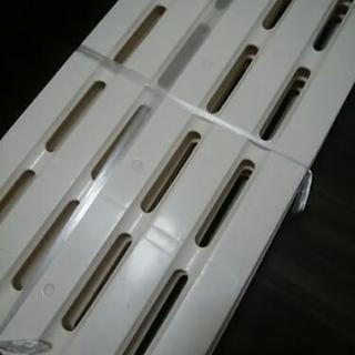 【湿気対策や床上げに】プラスチックすのこ 4枚