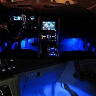 【新品】3連LED フロアライト ブルー 3ヶ所 発送可能