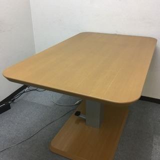 ニトリ 昇降式食卓テーブル(コラボ120DT LBR)