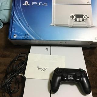 PS4 CUH-1100 White 500GB