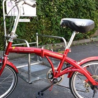 折り畳み自転車(難あり)