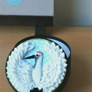 和の習い事 『つまみ細工で作る鶴の小箱』銀座教室 1Day Lesson